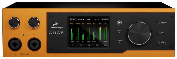 Antelope Audio bringt Audiowandler und Kopfhörerverstärker Amári heraus