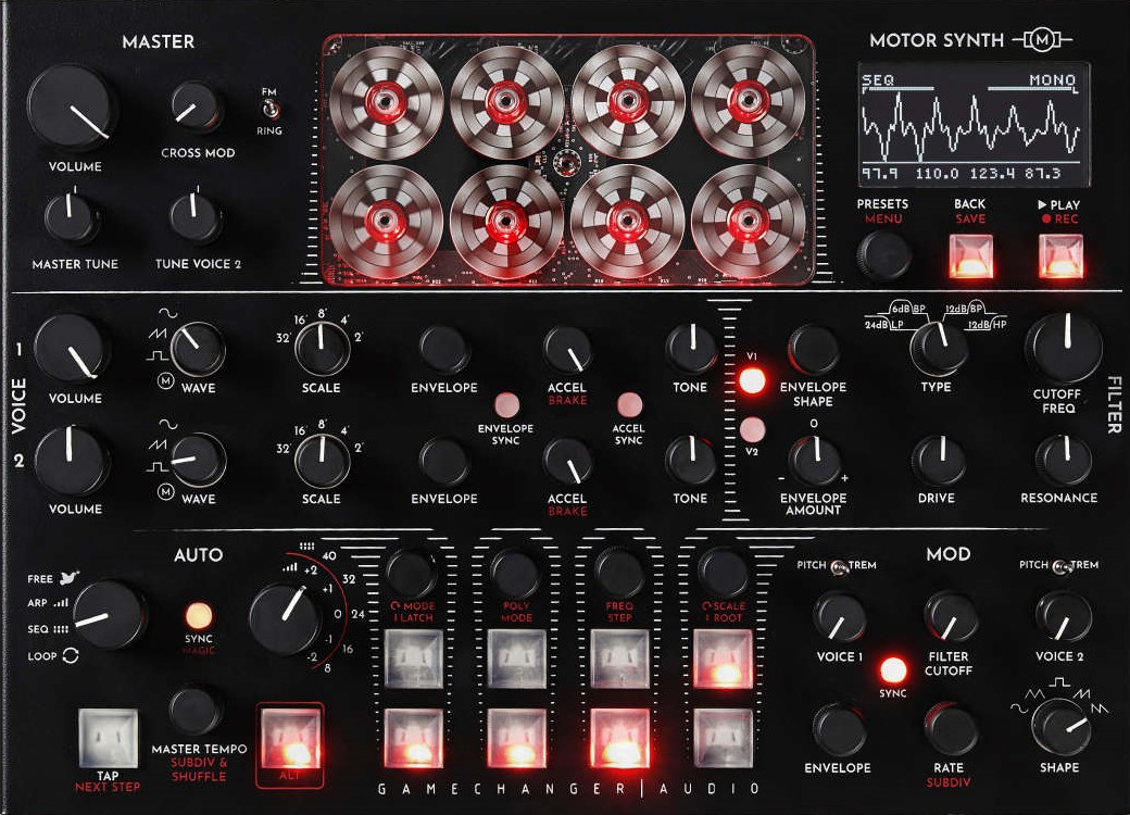 Gamechanger Audio enthüllt Motor Synth
