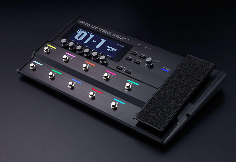 Boss veröffentlicht Firmware-Version 3 für Gitarren-Effektprozessor GT-1000