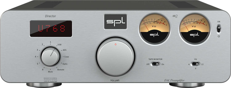SPL bringt Stereo-Vorverstärker Director Mk2 heraus