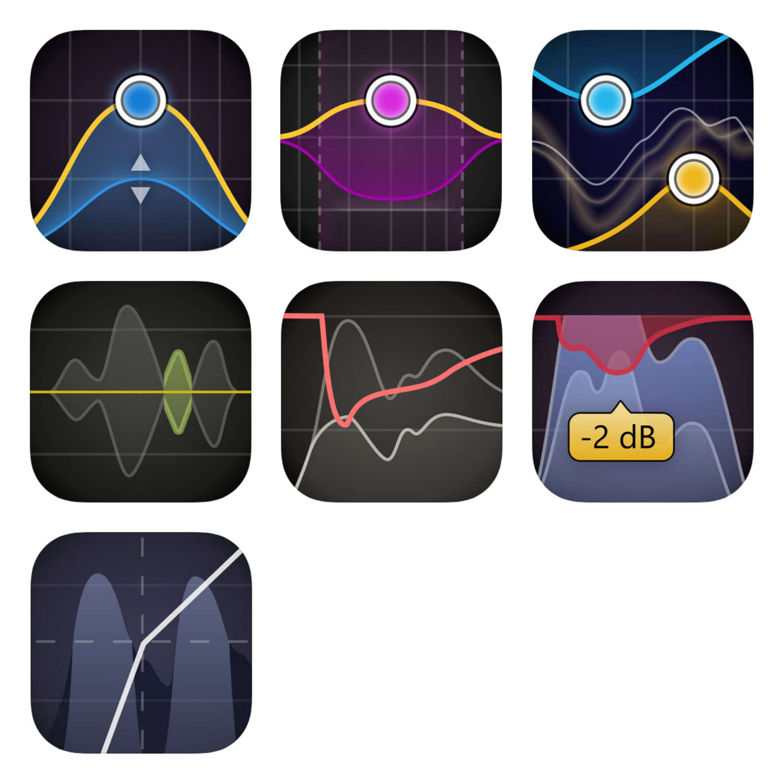 """FabFilter veröffentlicht """"AUv3""""-Versionen der """"Pro""""-Plug-ins für das iPad"""