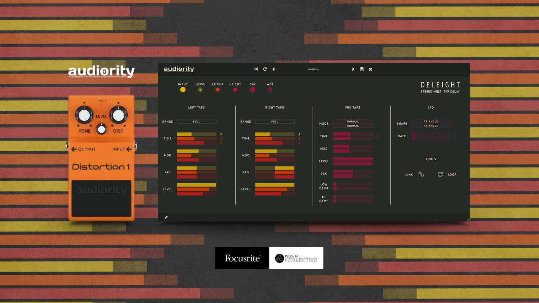 Rabatte und kostenlose Plug-ins von Audiority für Focusrite-Kunden verfügbar