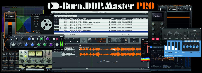 HOFA zeigt Softwaretool-Upgrade CD-Burn.DDP.Master Pro