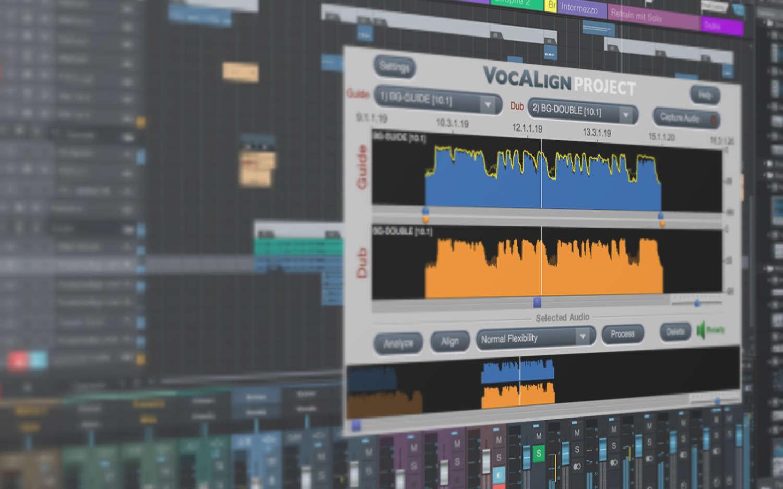 "Synchro Arts ergänzt ""VocALign""-Plug-ins um ""ARA2""-Unterstützung"