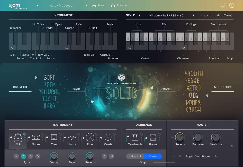 """Ujam veröffentlicht zweite Generation der """"Virtual Drummer""""-Produktreihe"""