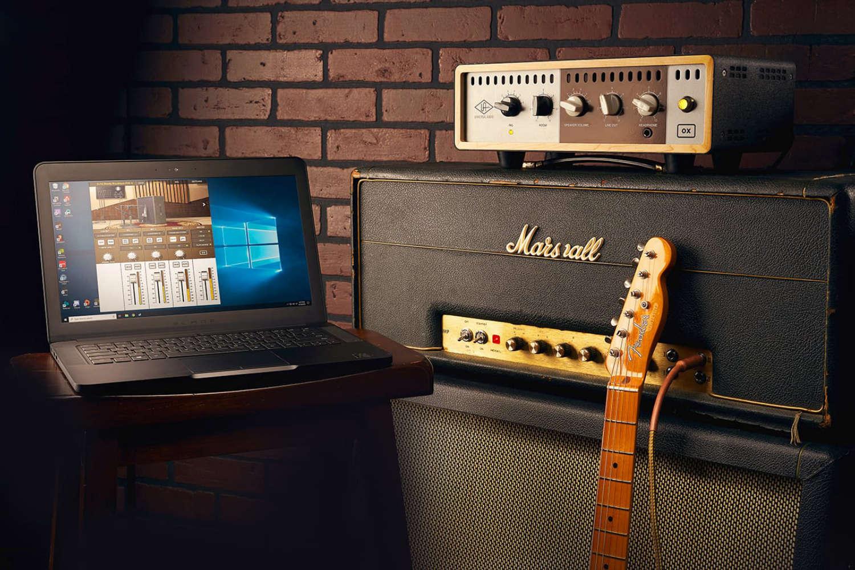 Universal Audio gibt Windows-Kompatibilität für die Amp-Top-Box OX bekannt