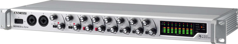 "Tascam stellt neuen Mikrofonvorverstärker ""SERIES 8p Dyna"" vor"