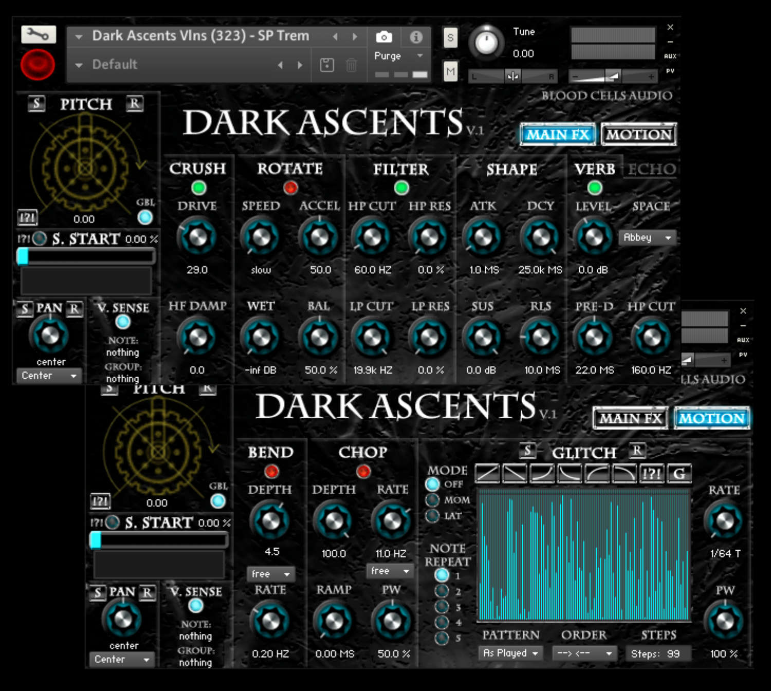 Softwareinstrument Dark Ascents für Native Instruments Kontakt veröffentlicht
