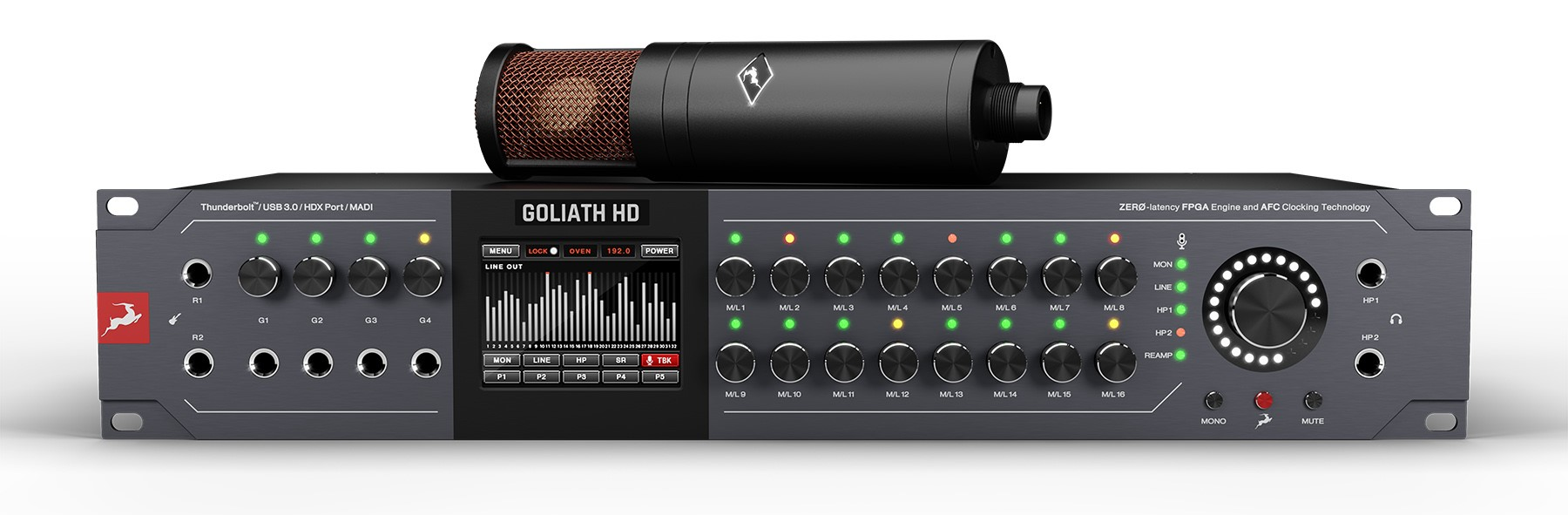 Antelope Audio präsentiert Orion Studio Synergy Core und Golialth HD | Gen 3