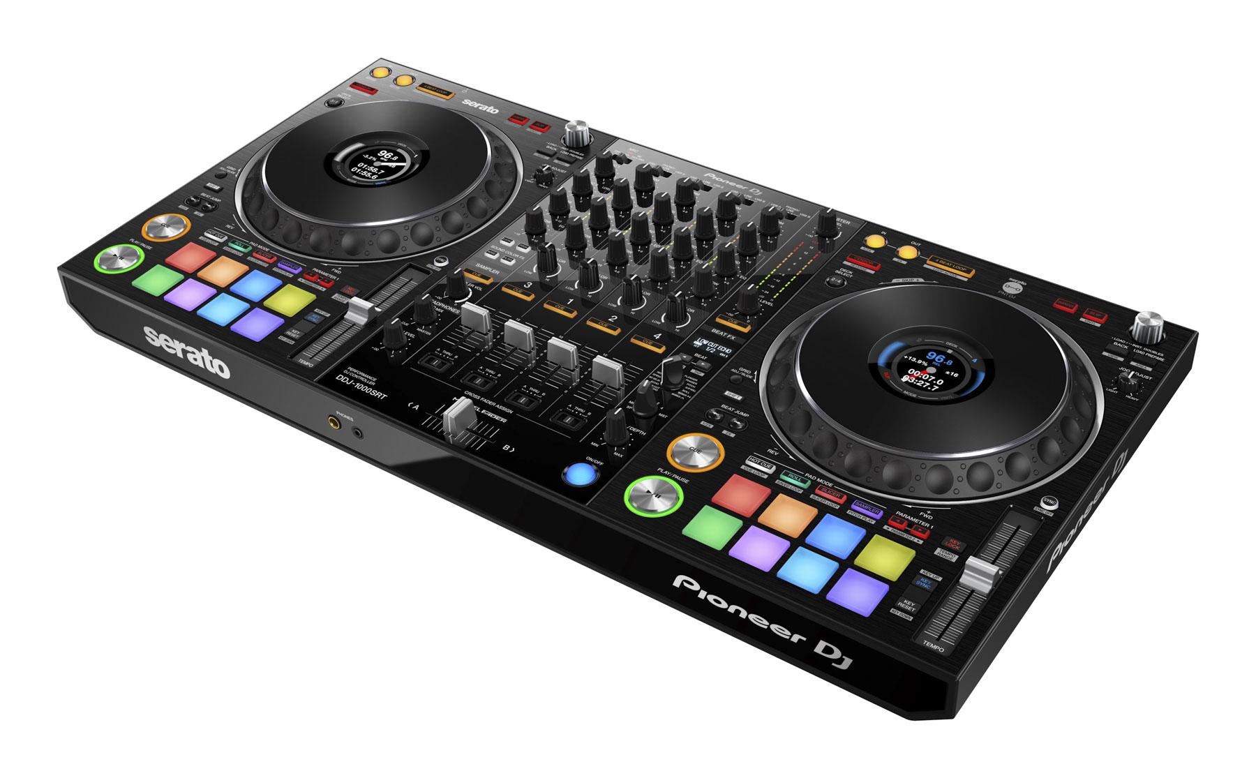 "Pioneer DJ bringt DJ-Controller DDJ-1000SRT mit ""Serato DJ Pro""-Unterstützung heraus"