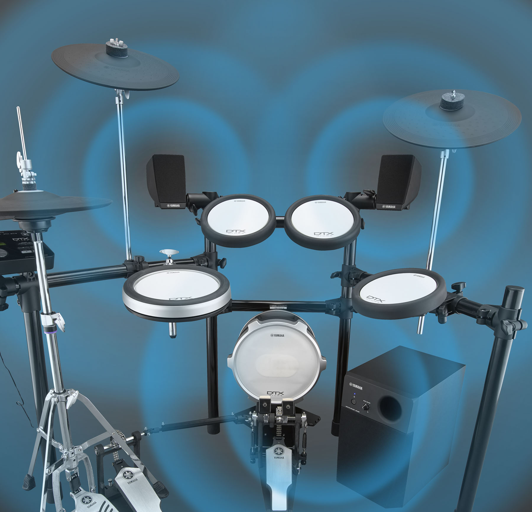 Yamaha stellt 2.1-Lautsprechersystem MS45DR für E-Drums vor