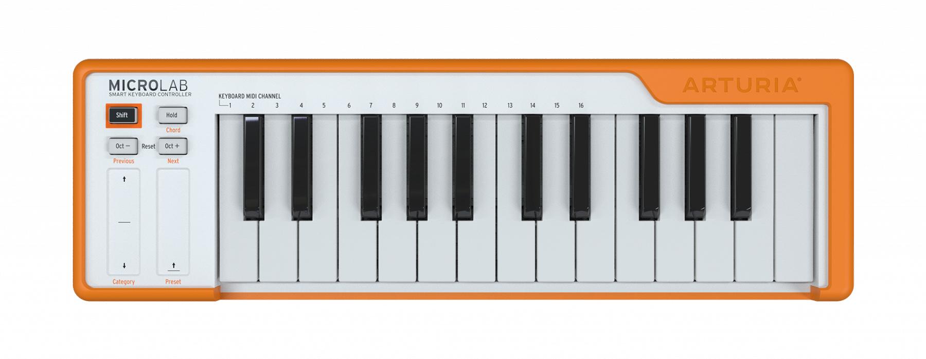 Arturia veröffentlicht MIDI-Keyboard MicroLab