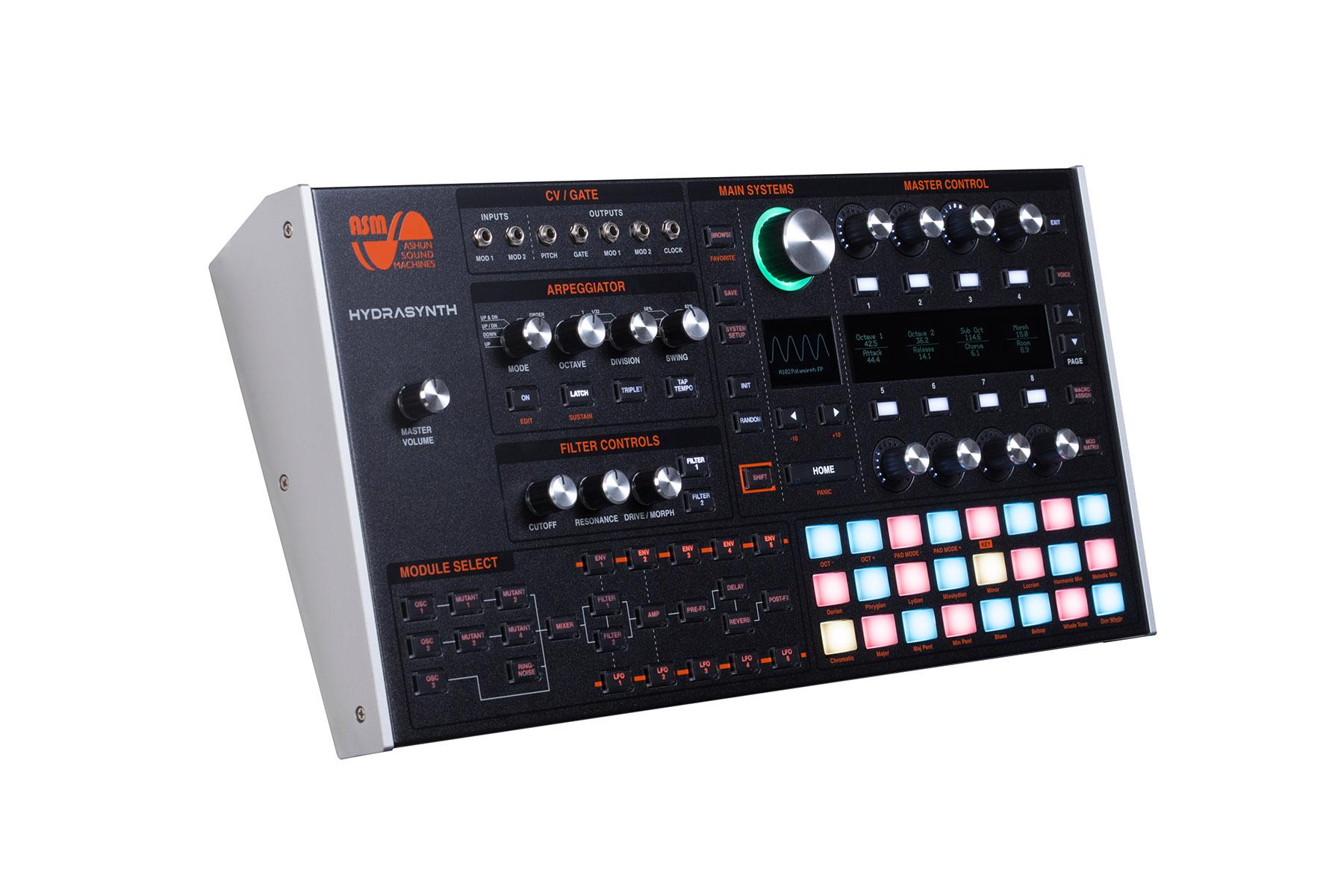 Ashun Sound Machines stellt sein erstes Produkt Hydrasynth vor