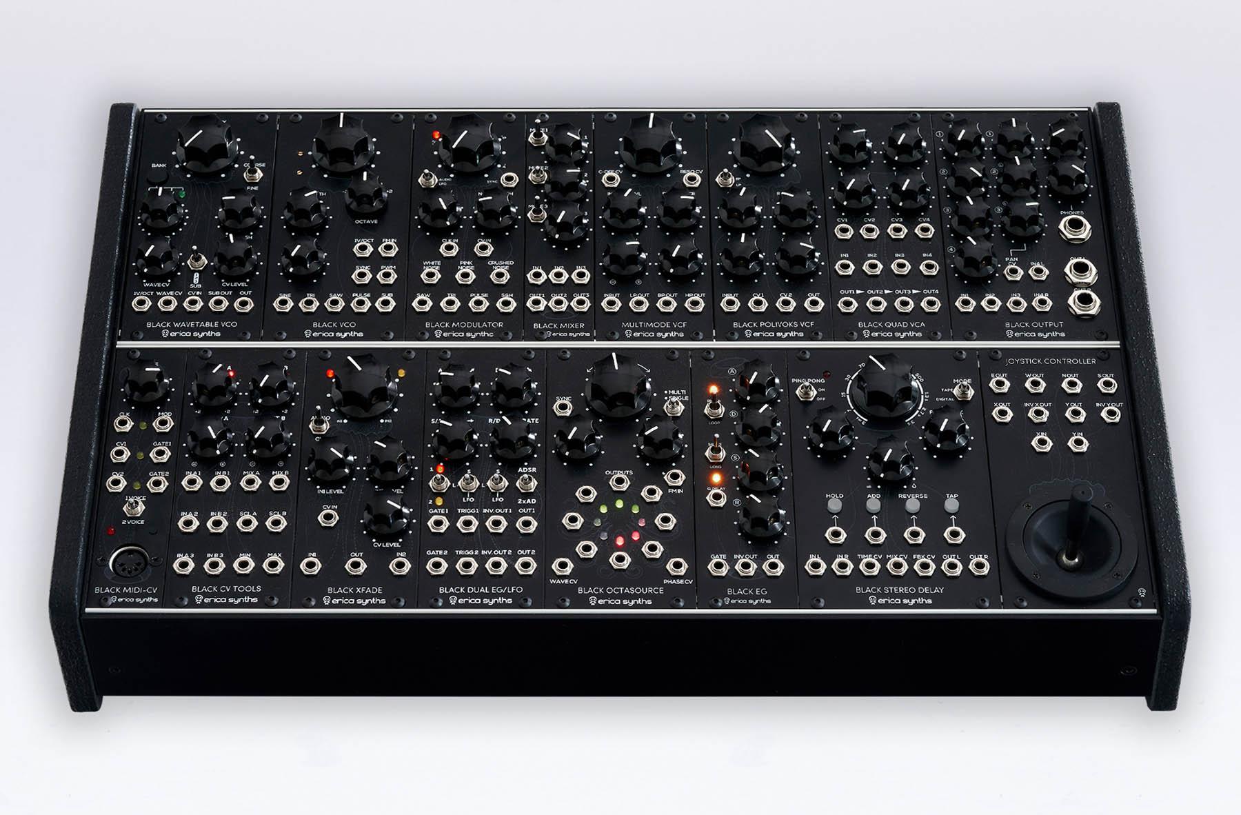 Erica Synths bringt Modularen Synthesizer Black System II heraus