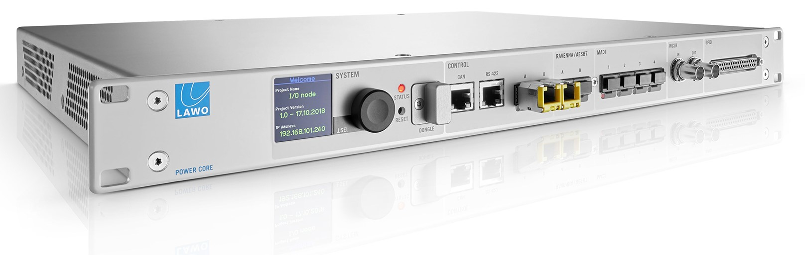 Lawo enthüllt Mixing-Engine Power Core MAX und Softwaretool AES67 Stream Monitor
