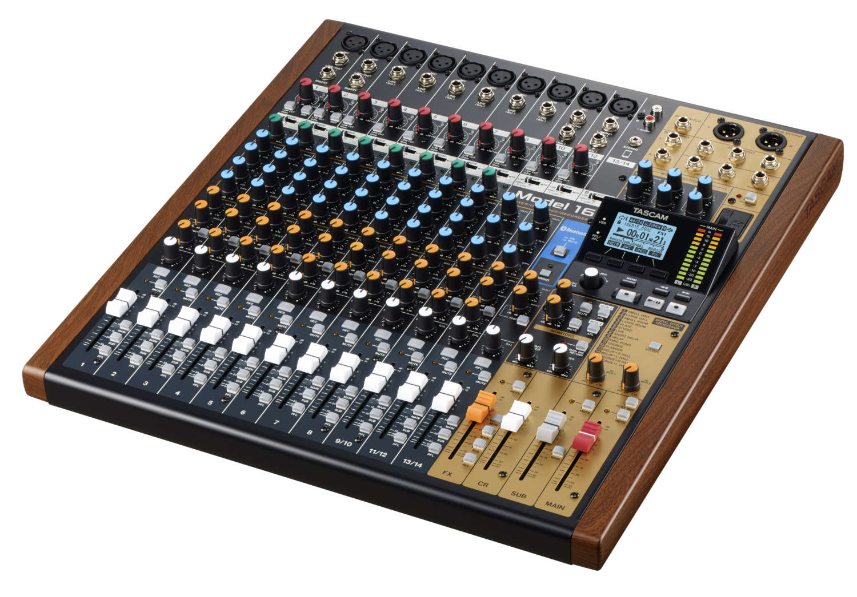 "Tascam präsentiert sein neues ""Mixing Studio"""
