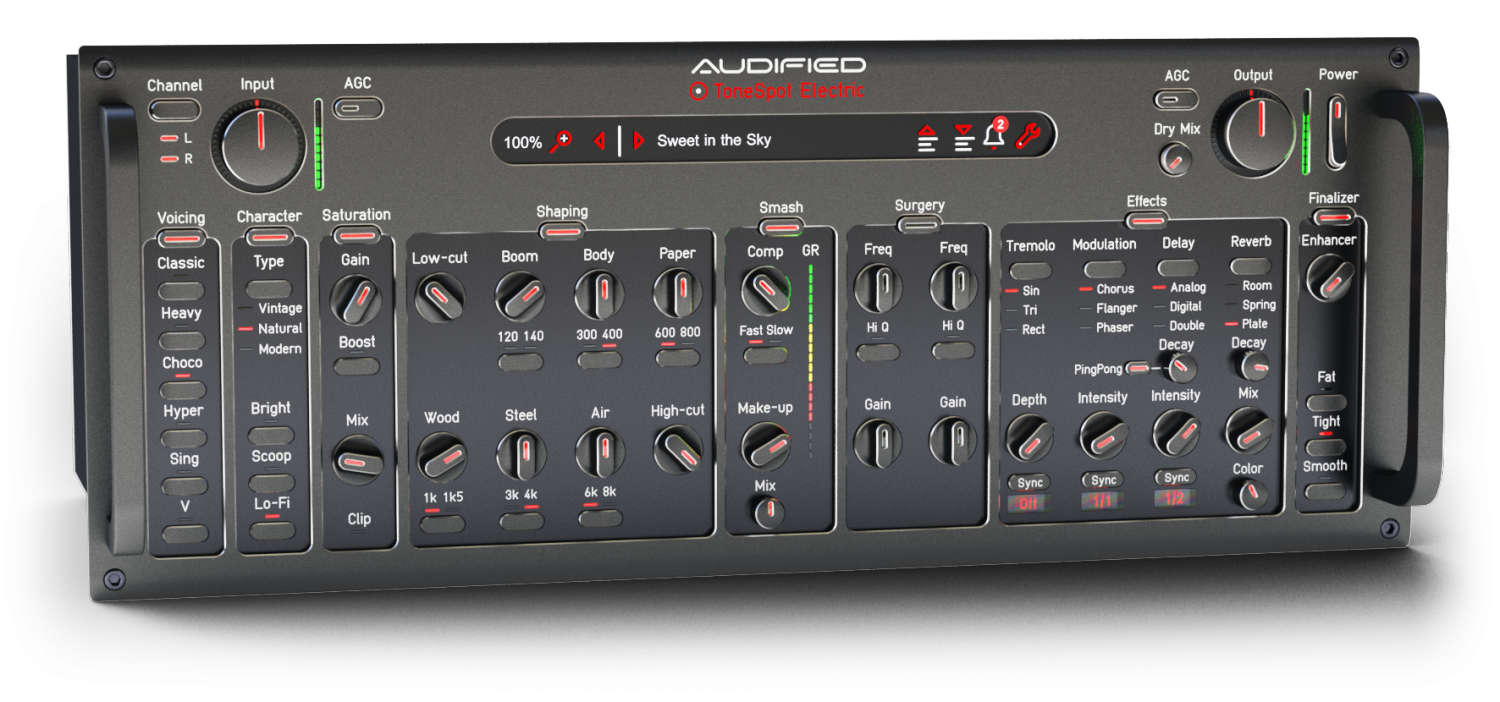 Audified stellt ToneSpot Electric Pro und ToneSpot Electric Express vor