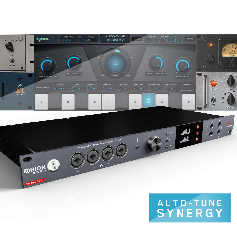 Antares bringt Auto-Tune auf die Synergy- Core-Plattform von Antelope Audio