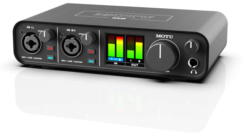 MOTU präsentiert neue USB-C Interfaces im unteren Preissegment