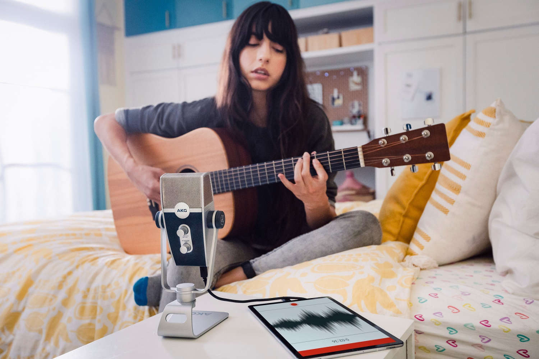 AKG wendet sich mit dem Lyra USB-Mikro an Podcaster, YouTuber und Musiker