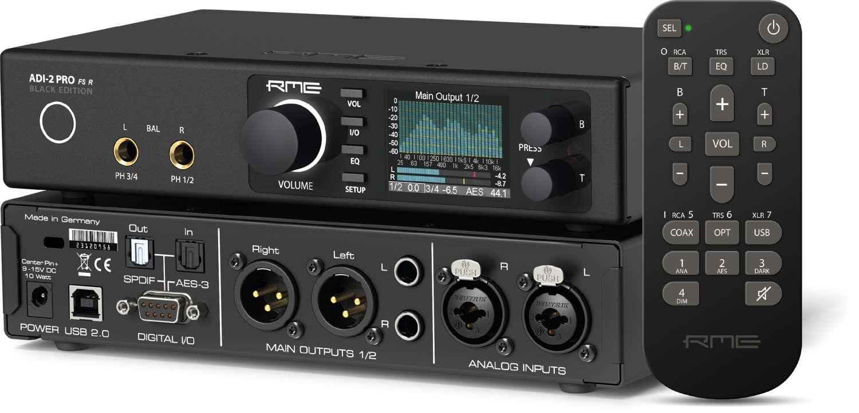 RME stellt im Zuge der Winter NAMM 2020 vier neue Geräte vor