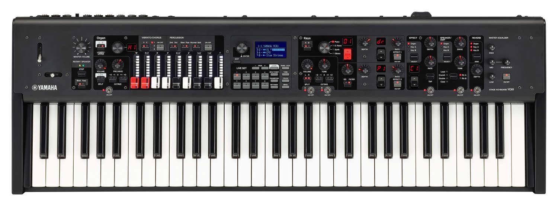 Yamaha präsentiert mit dem YC61 sein erstes Stage-Keyboard mit Zugriegel-Funktion