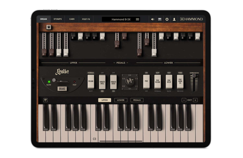 IK Multimedia bringt die Hammond B-3 samt Leslie-Speaker auf das iPad
