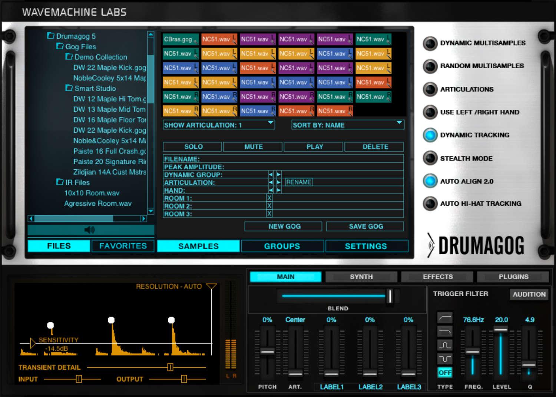Drumagog 5.4 wird ausgeliefert