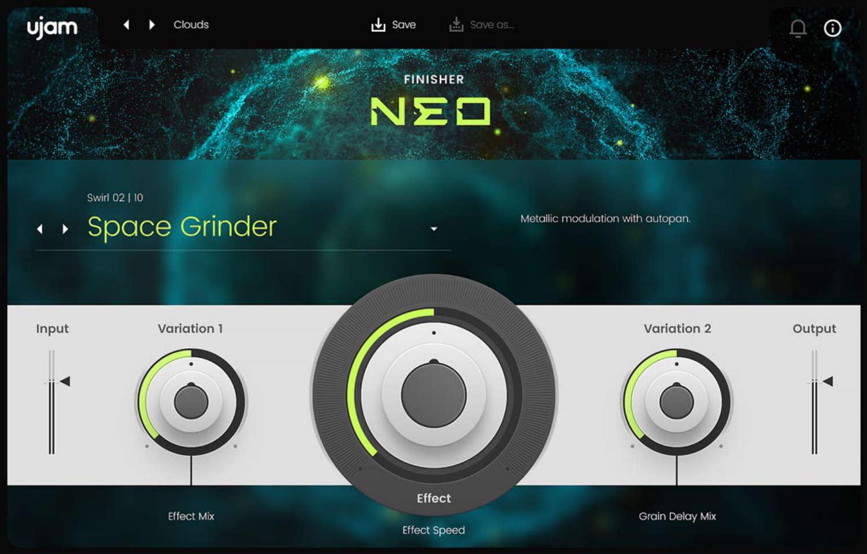UJAM debütiert mit dem Finisher Neo Plugin im Audio-Effekt-Markt