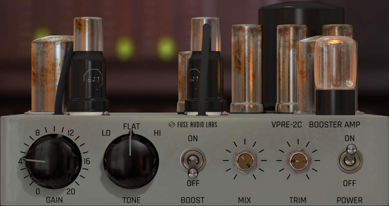 Fuse Audio Labs veröffentlicht VPRE-2C Plugin