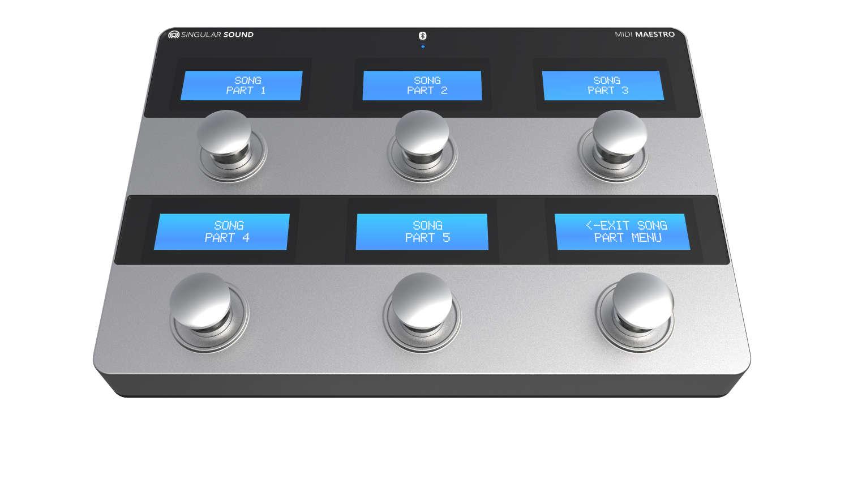 Intuitive MIDI-Steuerung per Fuß