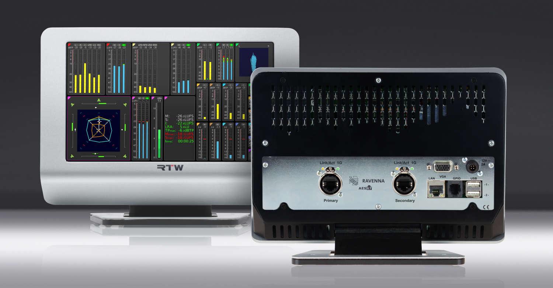 Erweiterte AoIP-Konnektivität für TM7 & TM9 Touch-Monitore