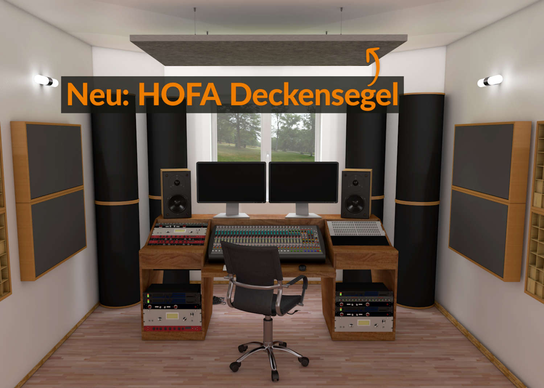 Neue Produktlinie von HOFA-Akustik
