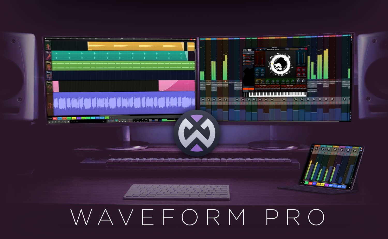 Tracktion Waveform Pro ist verfügbar