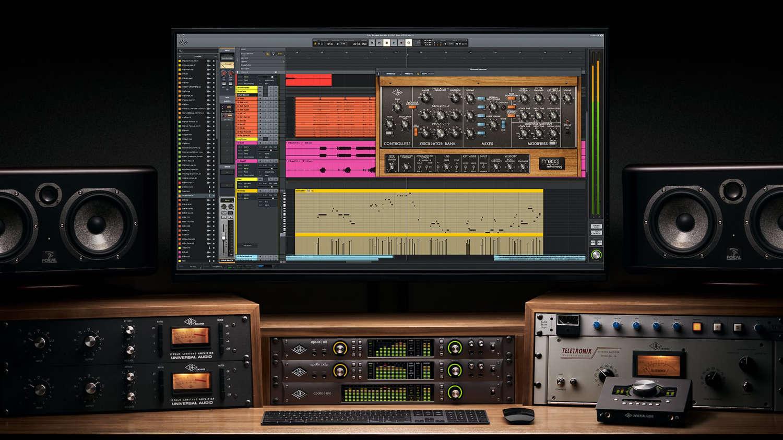 Universal Audio präsentiert mit LUNA eine eigene DAW
