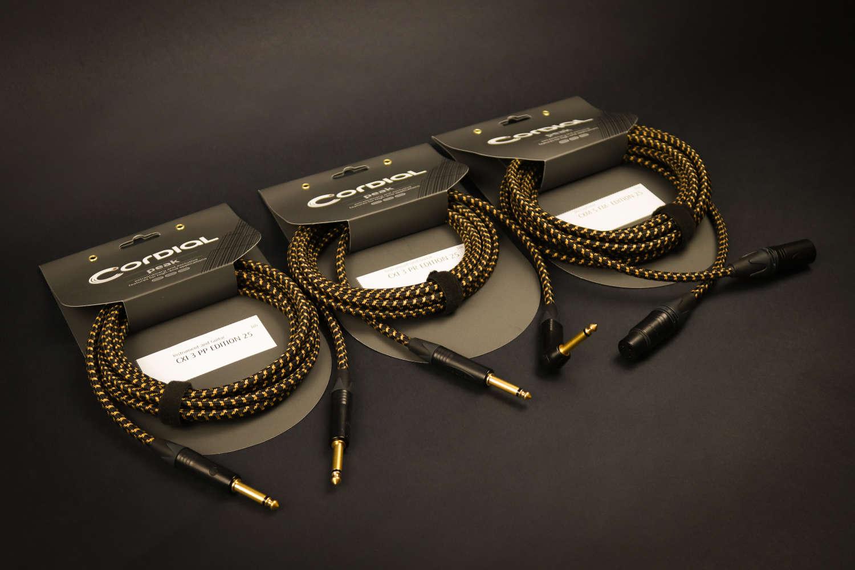 Neue Instrumenten- & Mikrofonkabel von Cordial