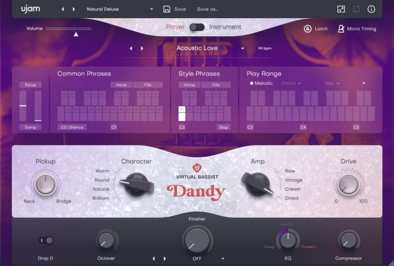 UJAM ergänzt seine Virtual Bassist Reihe