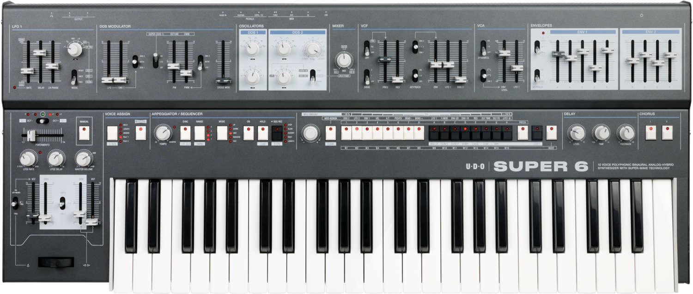 UDO Audio liefert Super 6 Synthesizer aus