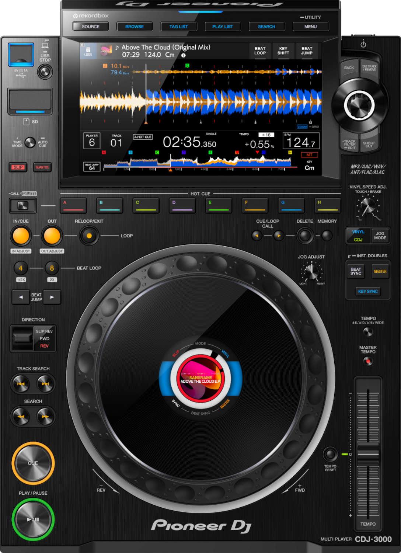 Der CDJ-3000 ist der neueste Spross in Pioneers Multiplayer-Serie