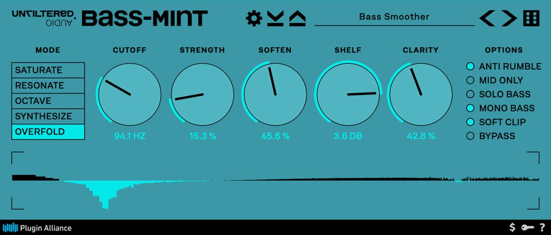 Unfiltered Audio veröffentlicht Bass-Mint Plugin