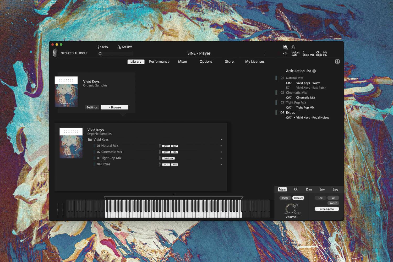 Orchestral Tools vermeldet Vivid Keys Release