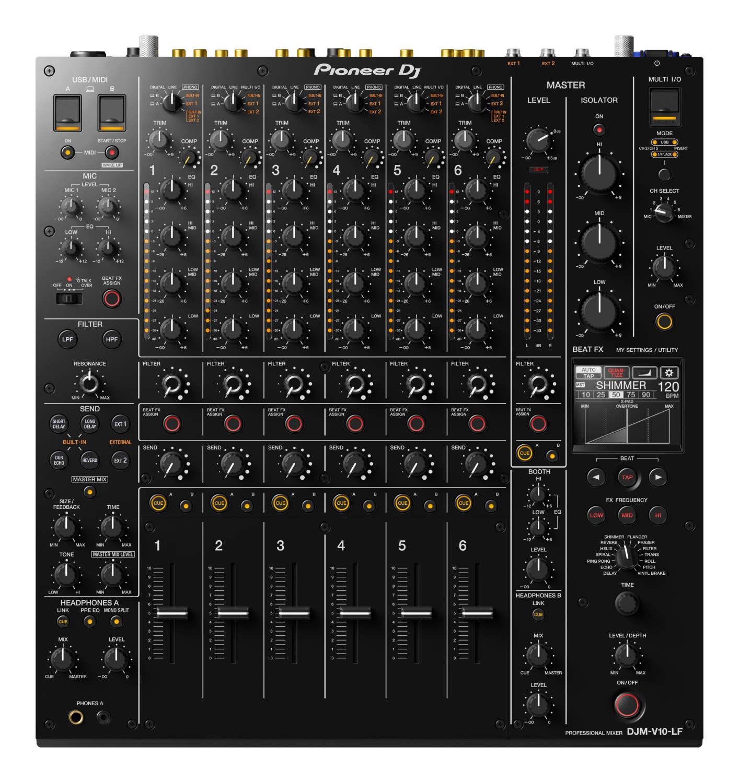 Pioneer DJ präsentiert den DJM-V10-LF