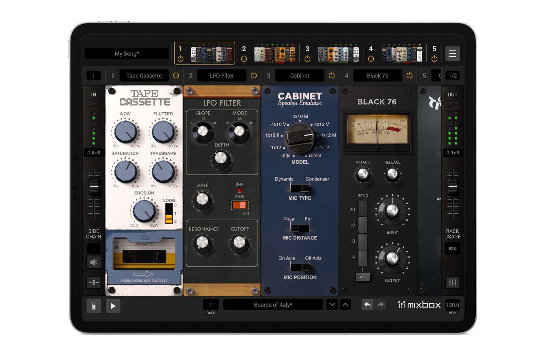 IK Multimedia veröffentlicht MixBox CS für iPad