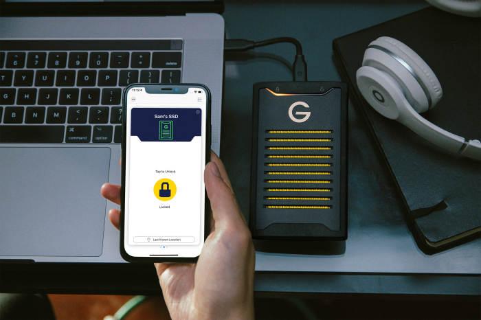 Exklusiver Test: Externe SSD-Festplatte G-Technology Armorlock
