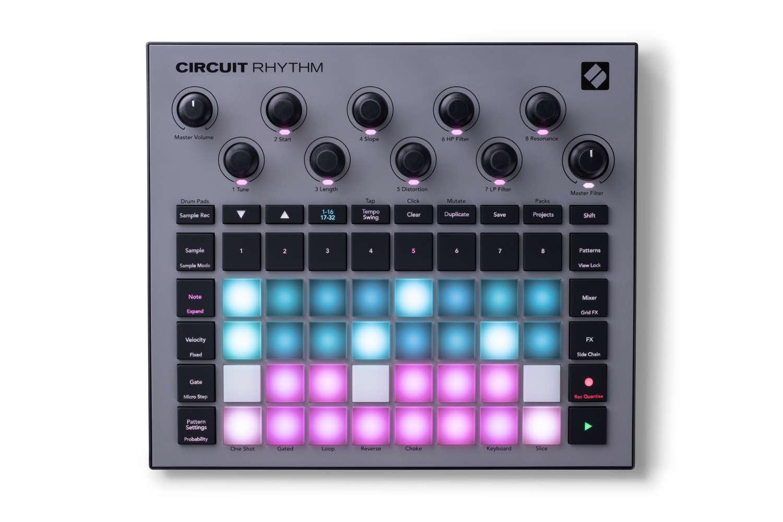 Novation kündigt Circuit Rhythm Groovebox für den Sommer 2021 an