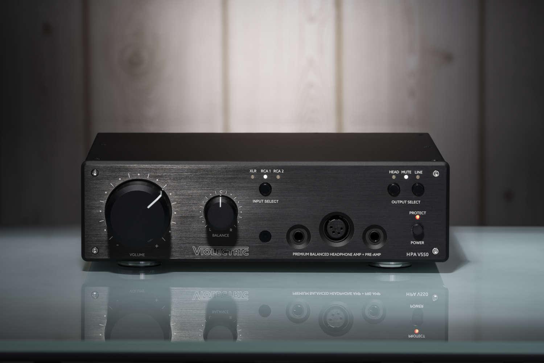 VIOLECTRIC stellt High-End-Kopfhörerverstärker  HPA V550 vor