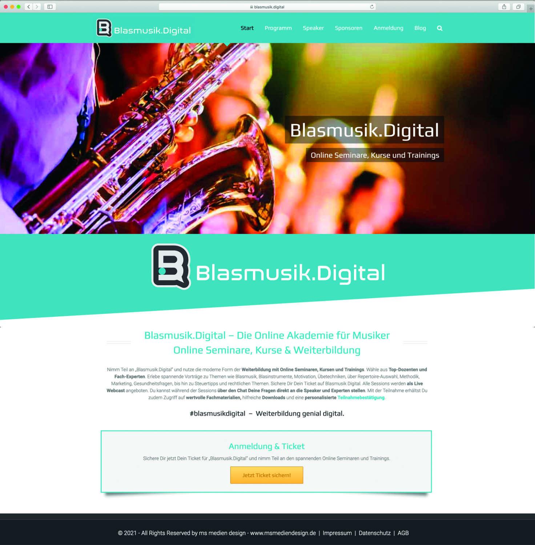 Blasmusik.Digital bietet Online-Weiterbildung im Lockdown
