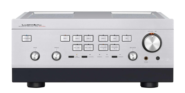 Luxman präsentiert L-595A Special Edition Class-A-Vollverstärker