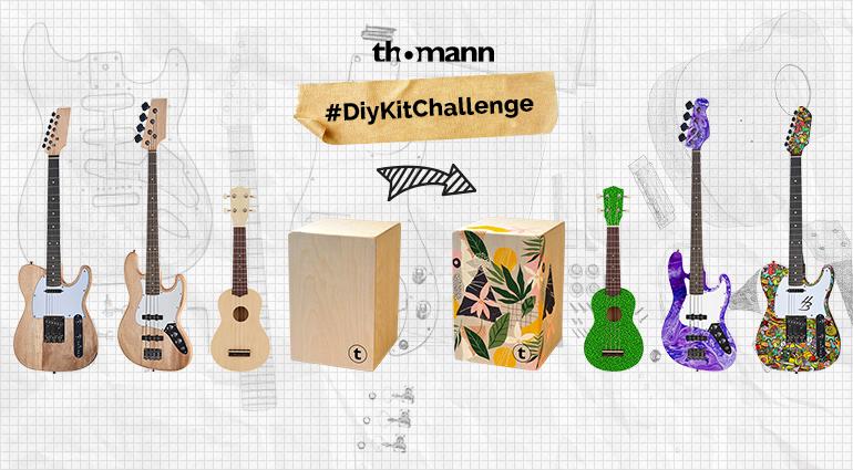 #DiyKitChallenge von Thomann