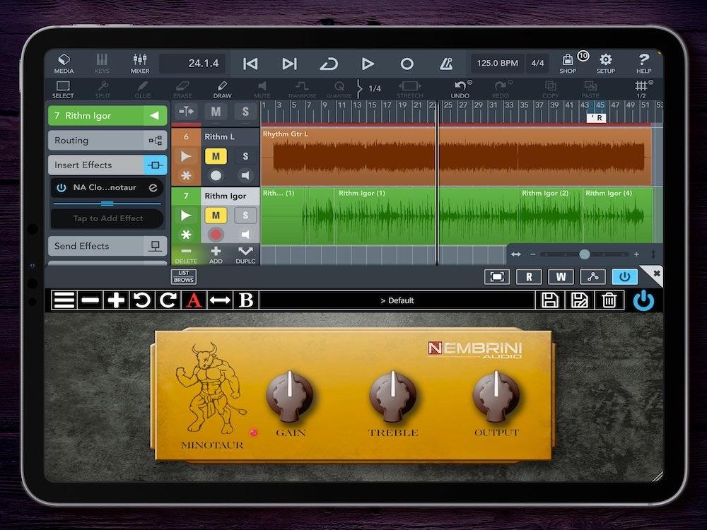 Nembrini Audio präsentiert Clon Minotaur Transparent Overdrive Plug-In